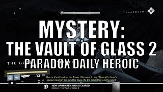 "Destiny - New Dead Ghost ""Mystery: The Vault of Glass 2"""