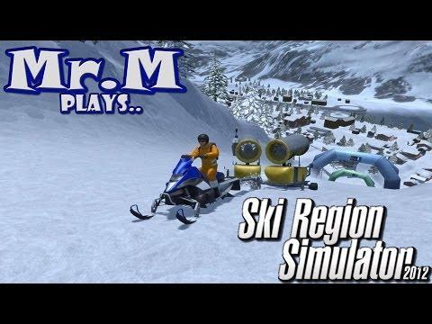 Mr.M Plays..Ski Region Simulator 2012 | HD