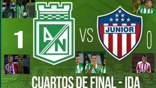 Nacional 1 Vs Junior 0 ! Mejores jugadas !