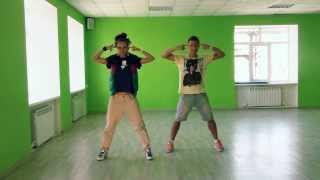 Видео урок танца на песню  Дискотека Авария  3B