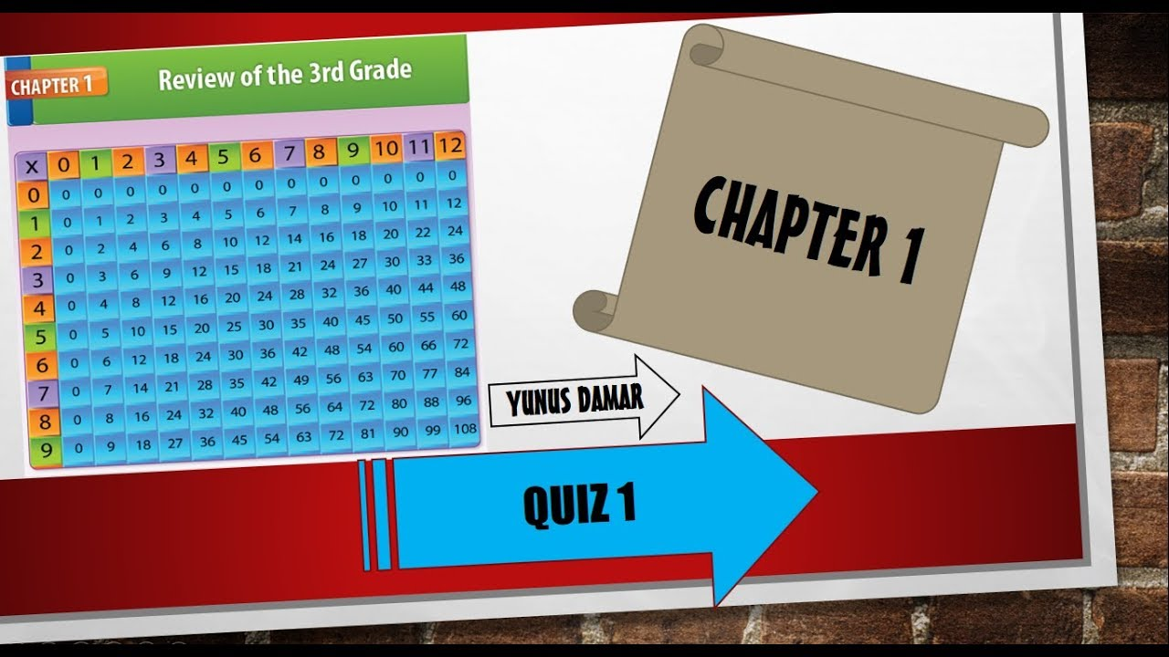 Grade 4 - Math Quiz 1 - YouTube