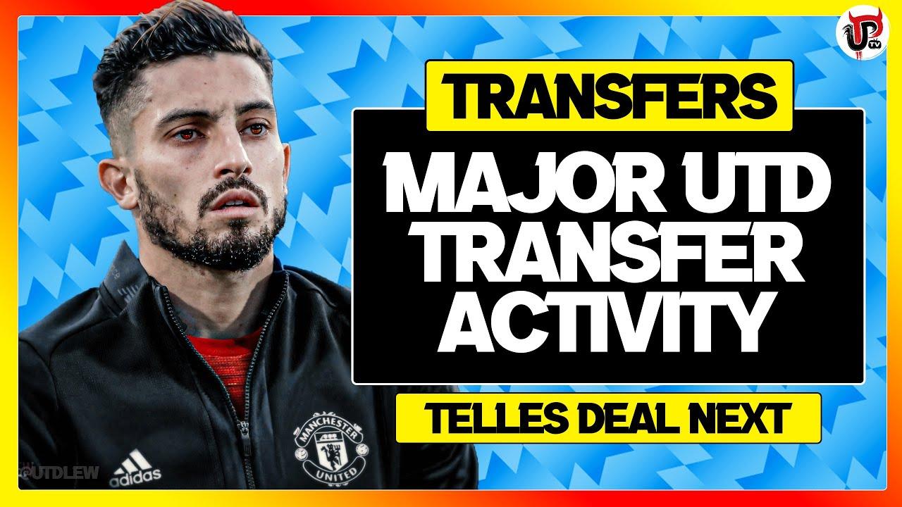 Man Utd's MAJOR Transfer Week Has STARTED   Telles And Sancho UPDATE - UnitedPeoplesTV