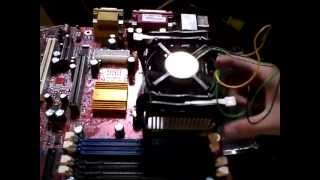 Possible reason why your socket 478 CPU processor (Pentium 4 IV) is hanging, freezing, or locking up