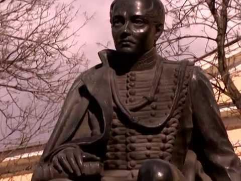 Памятник Лермонтову на горе Красное Солнышко