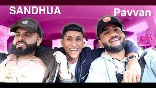 Punjabi Carpool Karaoke with Pavvan & Sandhu