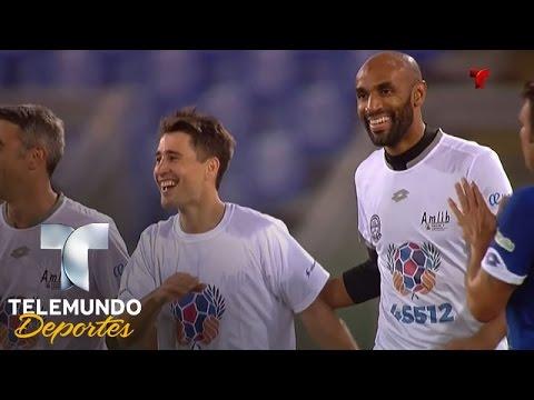 Bojan Krkić el empate transitorio en Unidos por la Paz | Unidos Por La Paz | Telemundo Deportes