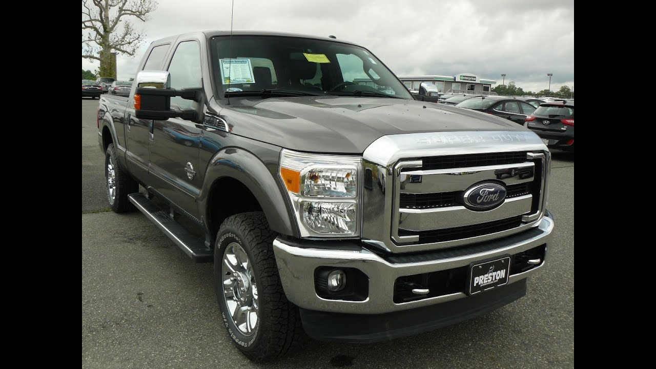 2012 ford f250 lariart crew cab 4wd powerstroke diesel v8 for sale maryland ford dealer youtube. Black Bedroom Furniture Sets. Home Design Ideas