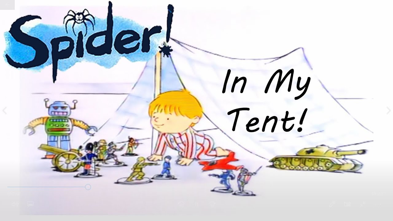 Download Spider! Episode 3 | In My Tent | SPIDER IN THE BATH