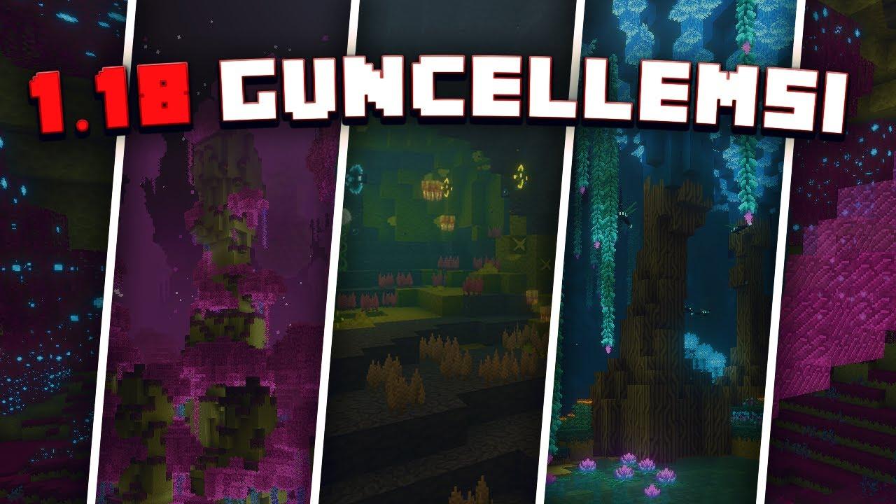 1.18 Güncellemesinde Hangi Yenilikler Gelecek | Minecraft 1.18 End Update