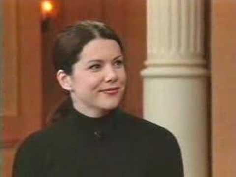 Lauren Talk Shows 2001