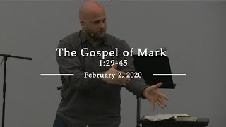 The Gospel of Mark 1:29-45