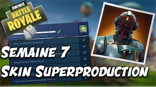 DECTUS WEEK 7 and SKIN SUPERPRODUCTION / Fortnite BR - Clem