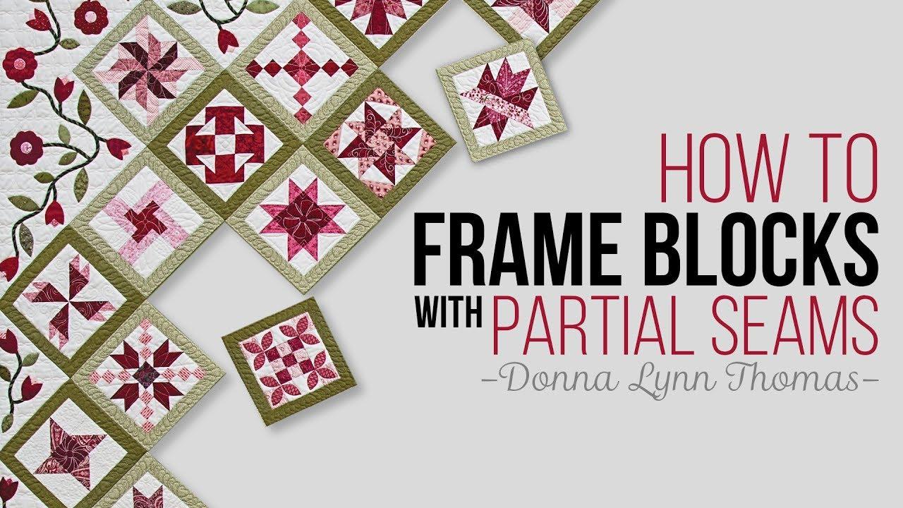 How to Frame Blocks Tutorial - YouTube