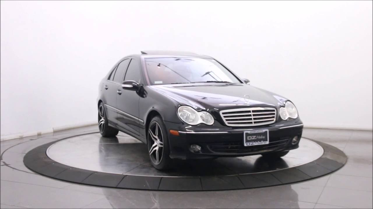 2005 mercedes benz c320 4matic sport sedan