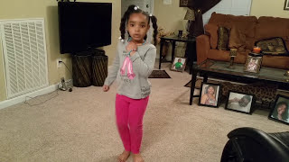5 year old dancing to the Whip & Nae Nae