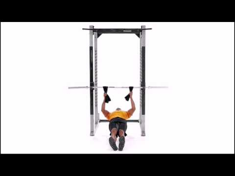 Towel Grip Inverted Row Exercise