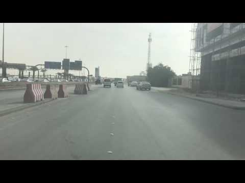 Saudi Arabia capital Riyad road trip