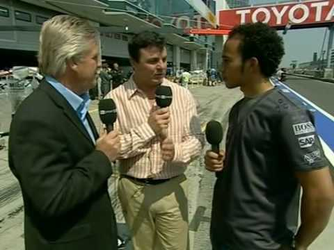 Lewis Hamilton interview - Nurburgring 2006