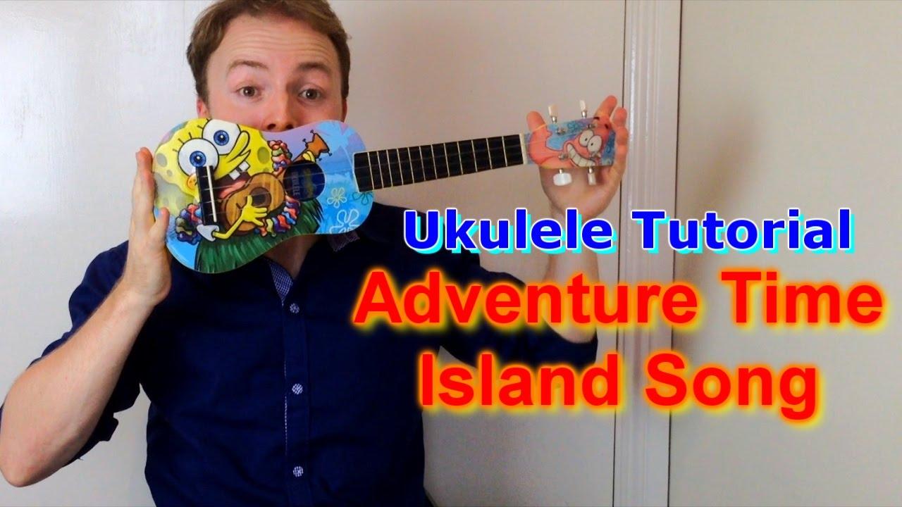 Adventure Time Island Song Closing Theme Ukulele