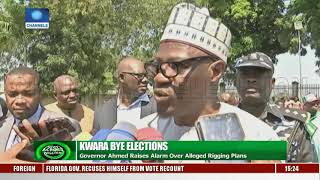 Kwara Bye Elections: Governor Ahmed Raises Alarm Over Alleged Rigging Plans