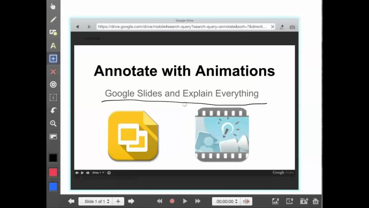 Annotate Google Slides with Explain Everything iPad by Brian Bartelli