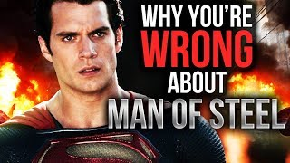 Why you're wrong about man of steel