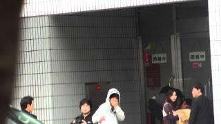 横浜入り待ち。