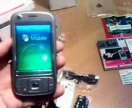 TMobile Unboxing Vario III Opening HTC Kaiser