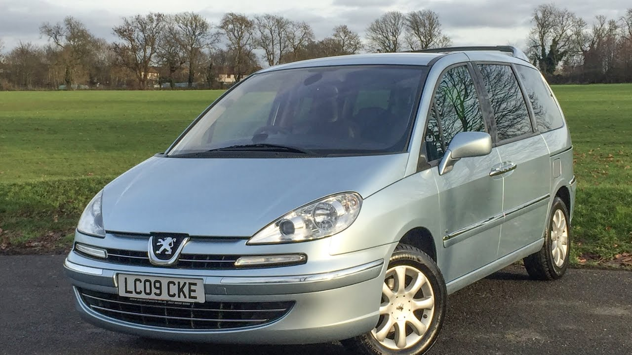 Peugeot 807 2 0 Hdi Se Turbo Diesel 6 Speed 7 Seater Mpv