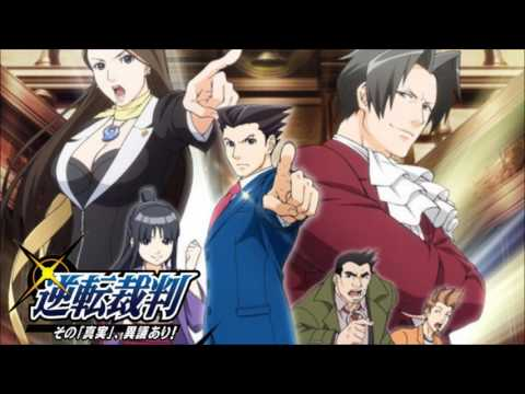 Pursuit ~ Cornered - Phoenix Wright: Ace Attorney Anime Music Extended