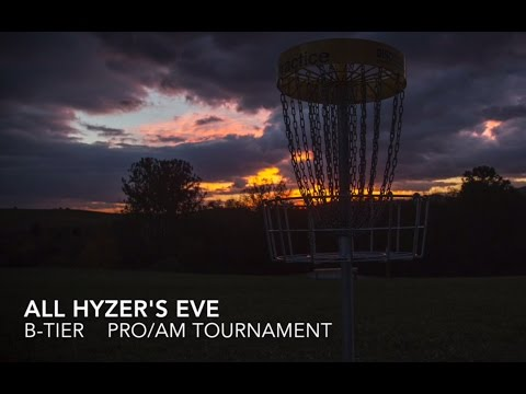 All Hyzer's Eve 2016 Round 1 - Dickerson, Isaacs, Peterson, Long, Turner