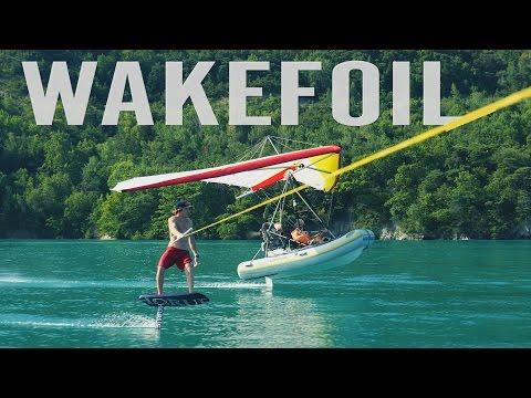 WAKEFOIL PARADISE | Foil Wakeboarding
