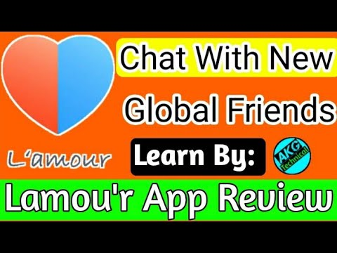 How To Use Lamour App || What Is Lamour App || Lamour App Kaise Use Kare|| Akg Technical