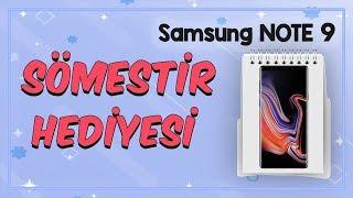 Sömestir Hediyesi 2. Çekiliş | Samsung Galaxy Note 9