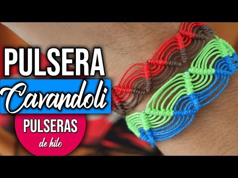 ► Pulsera MACRAME: ZIGZAG CAVANDOLI || Pulseras De Hilo || HaunterMake