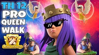 TH12 Pro Queen Walk With Miner Attack! TH12 Best & Strong CWL Attack Strategy 2019