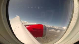Take Off from El Dorado International Airport (SKBO), Boeing 787-8 Dreamliner N782AV Avianca