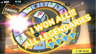 I WON EVERYTHING! ALL LEGENDARIES/💎💎💎/EPICS! LUCKY CARNIVAL PART 1