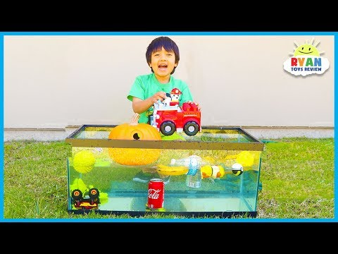 Sink Or Float For Kids Science Experiments You Can Do At Home With Ryan ToysReview!