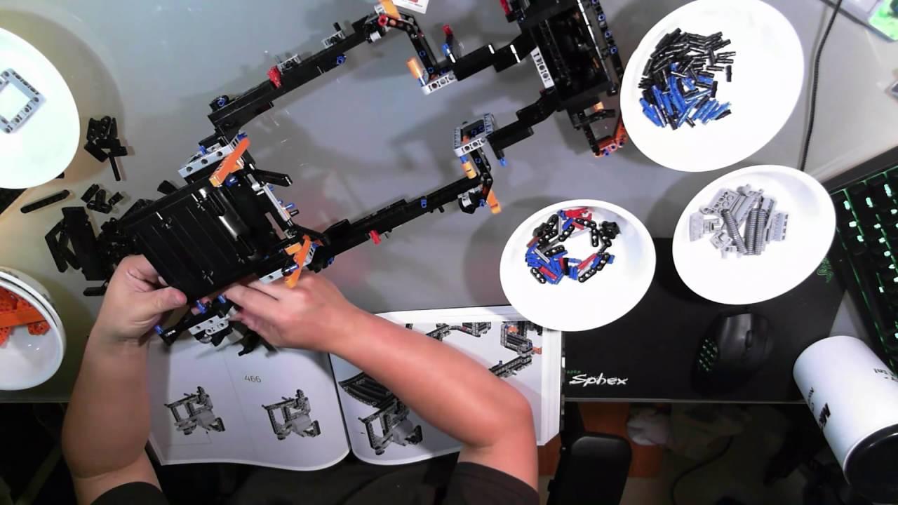 Building The Lego Technic 42056 Porsche 911 Gt3rs Box 2