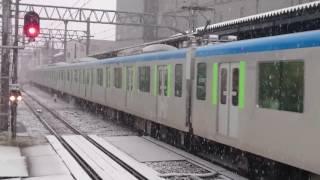 東武60000系 61616F 普通大宮行き 岩槻駅入線~発車