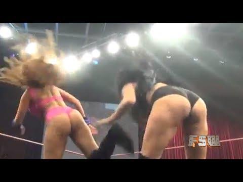 FREE MATCH Shelly Martinez vs Re Sky II    FSW  WOMENS WRESTLING  BROKEN HARDYS  ECW