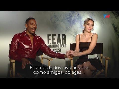 Fear The Walking Dead S4: TN  Alycia DebnamCarey & Colman Domingo