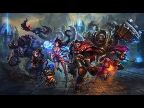 New PC Test - One game of LoL