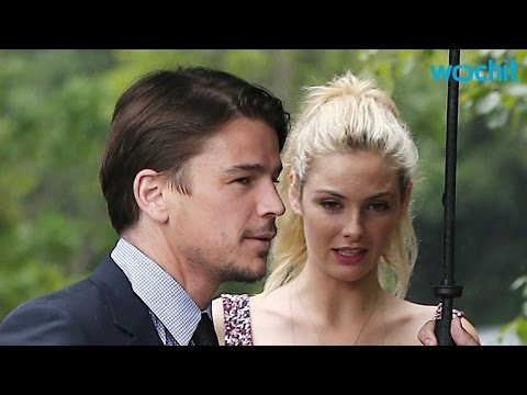 Josh Hartnett and Tamsin Egerton Chat With the Royal Couple