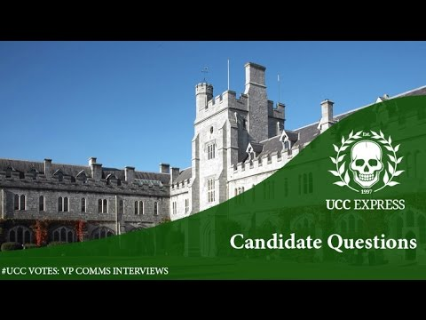 #UCCVotes Candidate Interviews 2017: Comms Officer - Questions