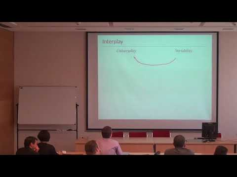 Martin Gerlach - From Universality to Variability in the Statistics of Word Frequencies