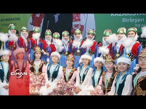 Türkçe Olimpiyatları'nın Kazakistan finali bayram havasında geçti