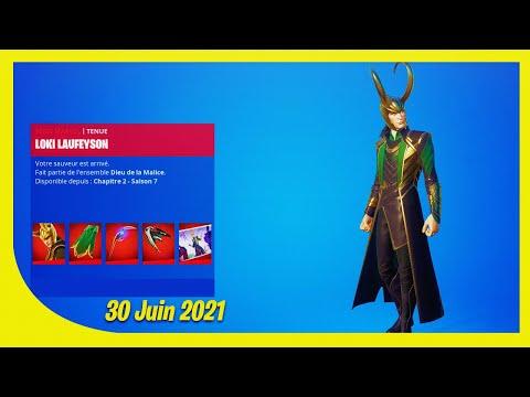 BOUTIQUE FORTNITE du 30 Juin 2021 ! ITEM SHOP June 30 2021 !