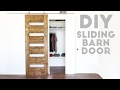 DIY Mid-Century Modern Sliding Barn Door | Modern Builds | EP 54